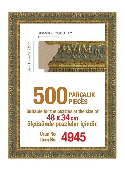 Educa Heidi 500 Parçalık Puzzle Çerçevesi 48X34 Cm 4945 Renkli